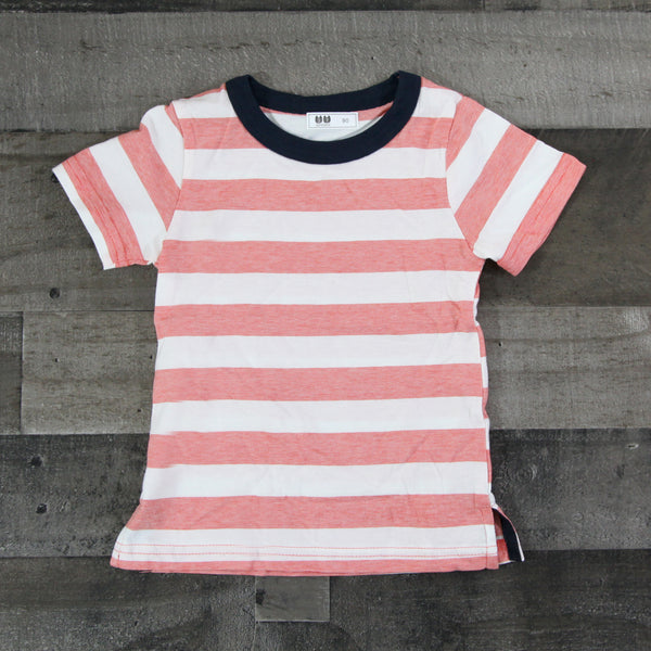 Boy T-shirts - Red Stripe