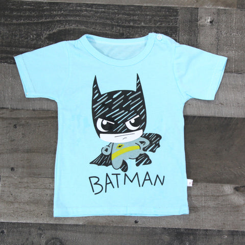 Boy T-shirts - Teal Bat