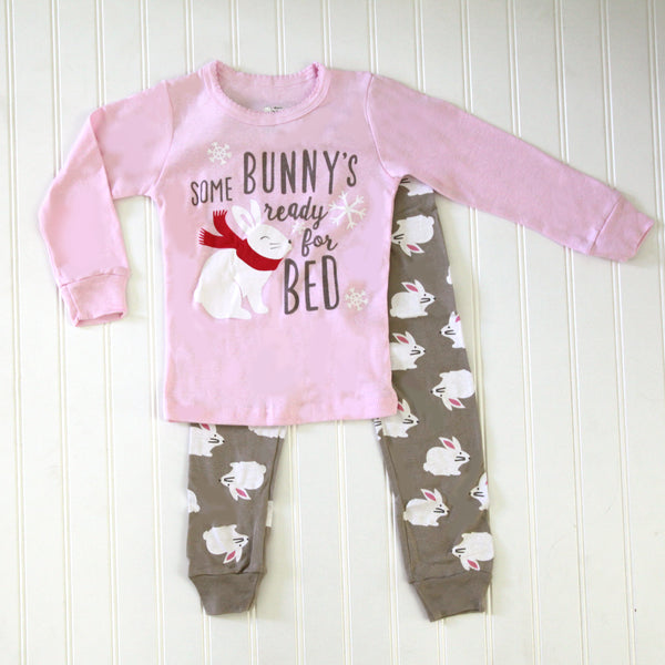 Fall Kid Pajamas - Bunny