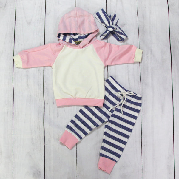 Hooded Baby Outfits - Emma