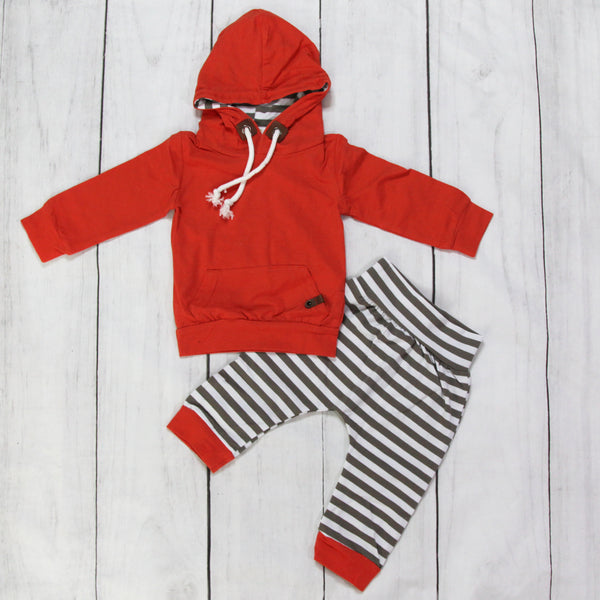 Hooded Baby Outfits - Sammy
