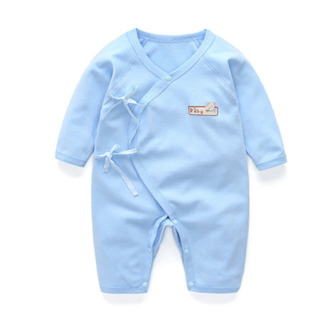 Long Sleeve Sleepy Baby Pajamas - Blue