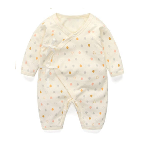 Long Sleeve Sleepy Baby Pajamas - Cream