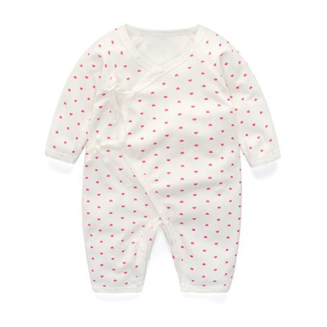 Long Sleeve Sleepy Baby Pajamas - Heart