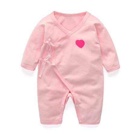 Long Sleeve Sleepy Baby Pajamas - Pink