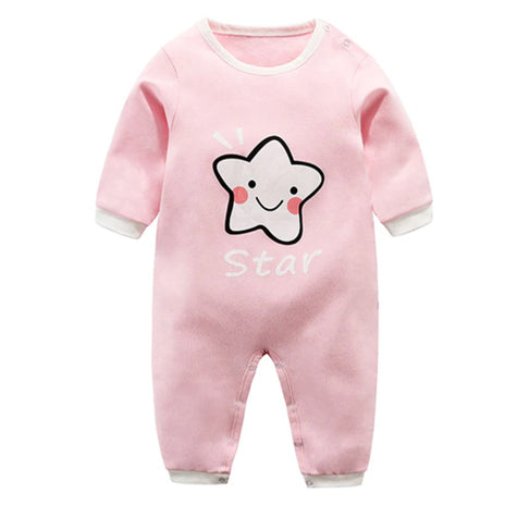 Long Sleeve Sleepy Baby Pajamas - Star