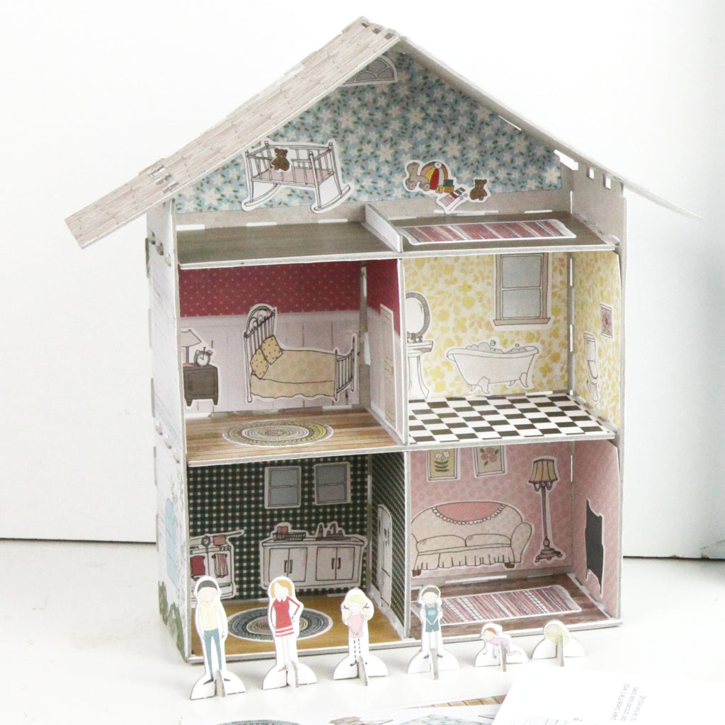 Design Your Own Dollhouse Craft Kit Minilou
