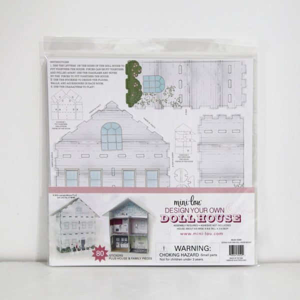 Design Your Own Dollhouse Craft Kit