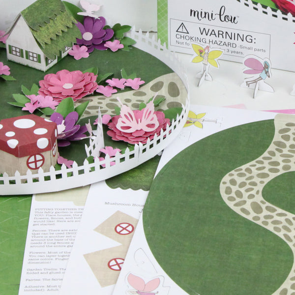 Design your own fairy garden box kit minilou for Design your own garden
