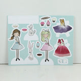 Kate and Anna Paper Doll Craft Set