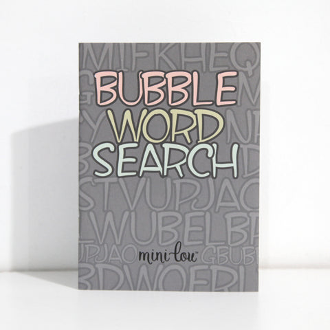 Bubble Word Search Activity Book - FINAL SALE
