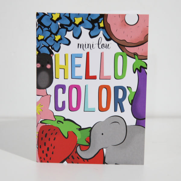 Hello Color Coloring Book
