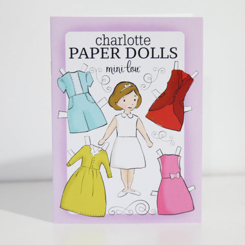 Charlotte Paper Dolls Coloring Book - FINAL SALE