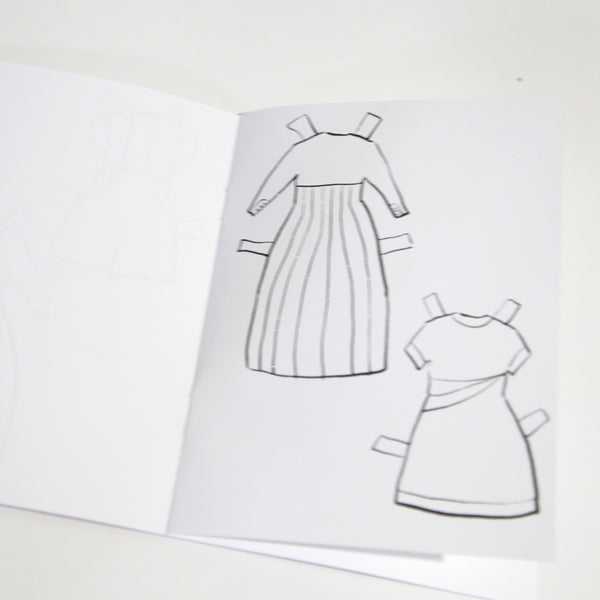 Charlotte Paper Dolls Coloring Book