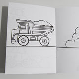 Diggers Coloring Book