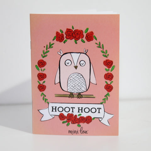 Hoot Hoot Coloring Book