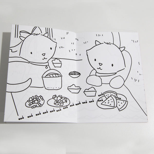 Kitty Adventures Coloring Book