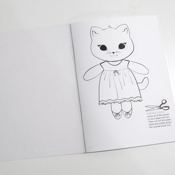 Kitty Friends Coloring Book