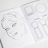 Make Up Girl Coloring Book