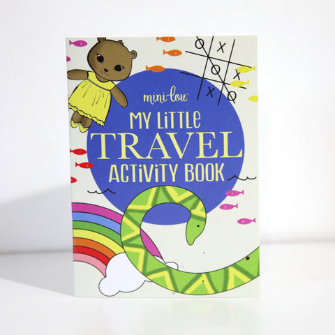 My Little Travel Activity Book