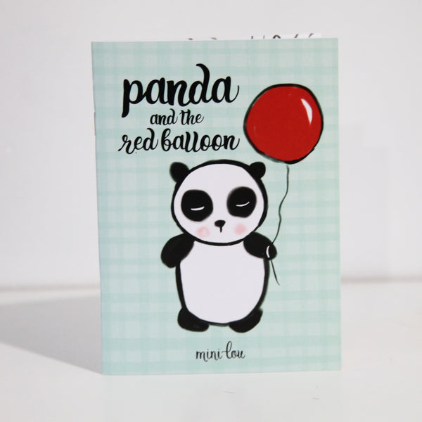 Panda & The Red Balloon Coloring Book