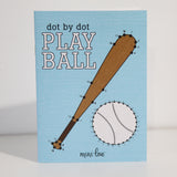 Play Ball Dot to Dot Coloring Book