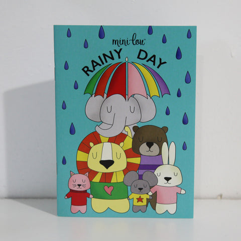 Rainy Day Coloring Book