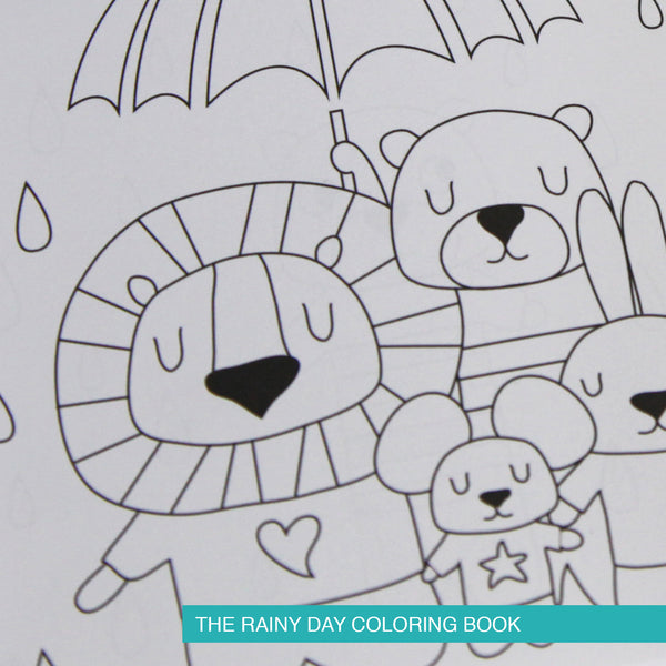 Rainy Day Coloring Books