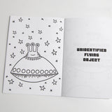 Secret Agent Alien Coloring Book