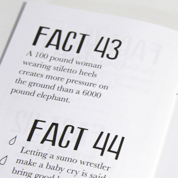 The Silly Fact Book