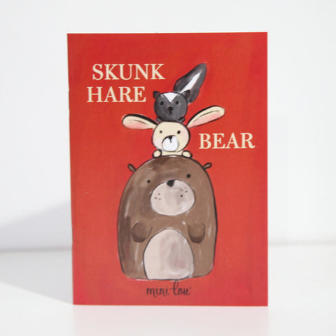 Skunk Hare Bear Coloring Book