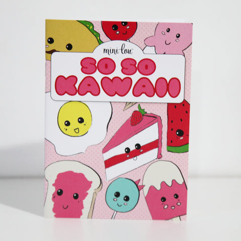 So So Kawaii Coloring Book