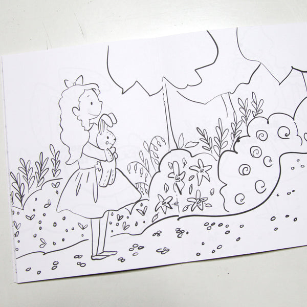 Anna's Talking Bunny Coloring Book