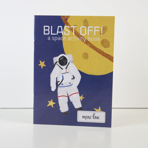 Blast Off! Coloring Book 5 x 7 Coloring Book - FINAL SALE
