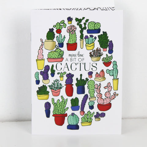 A Bit of Cactus Coloring Book - FINAL SALE