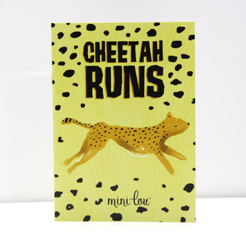 Cheetah Runs Coloring Book - FINAL SALE