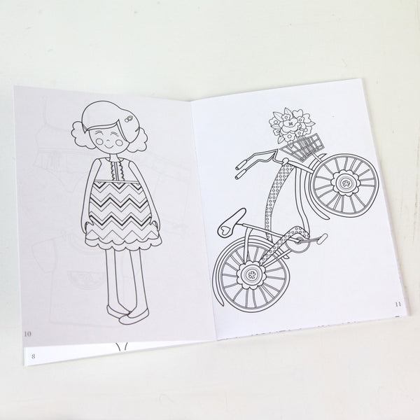 Dress Up Days Coloring Book 5 x 7 Coloring Book