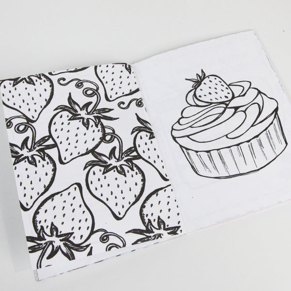 Donut Worry & Eat Cake Coloring Book