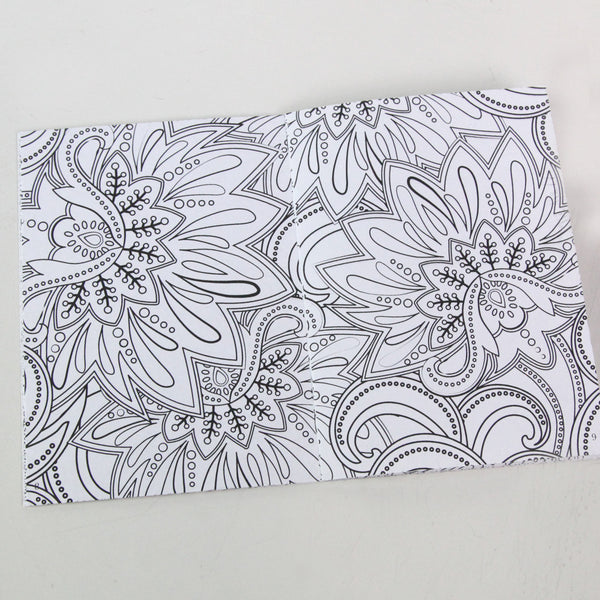 The Fantastical Coloring Book of Florals 5 x 7 Coloring Book
