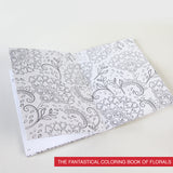 Floral Coloring Books