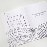 The Little House on the Hill Coloring Book - FINAL SALE
