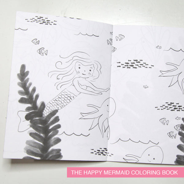 Ocean and Water Creatures Coloring Books