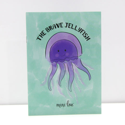 Brave Jellyfish Coloring Book  - FINAL SALE