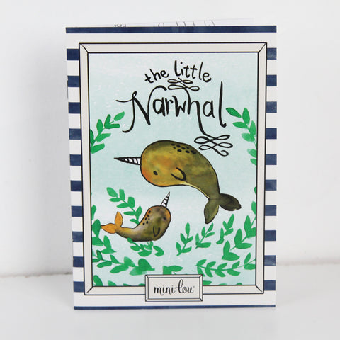 The Little Narwhal Coloring Book 5 x 7 Coloring Book