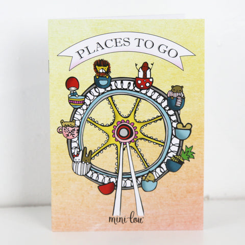 Places to Go Coloring Book