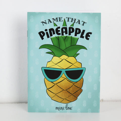 Name That Pineapple Coloring Book