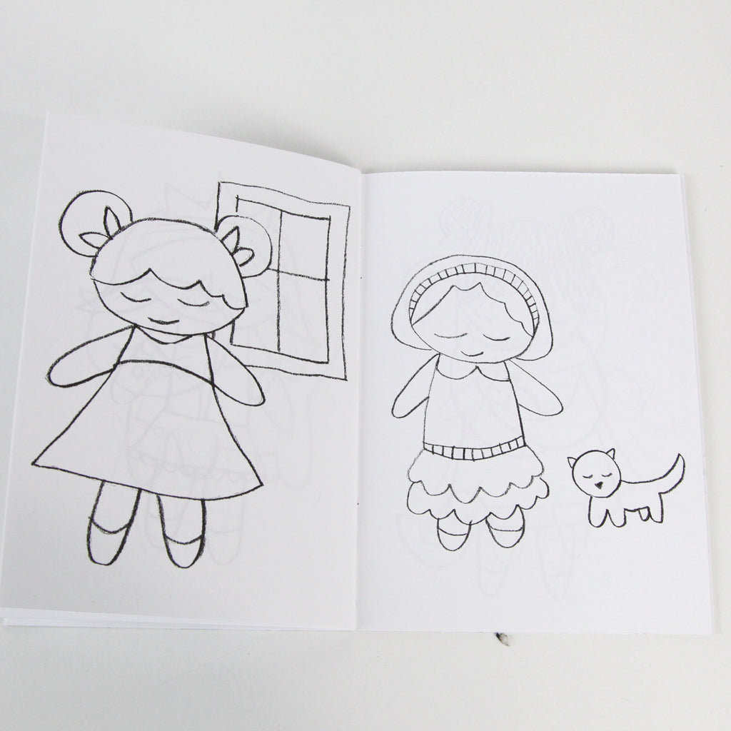 Pitter Patter Coloring Book MiniLou