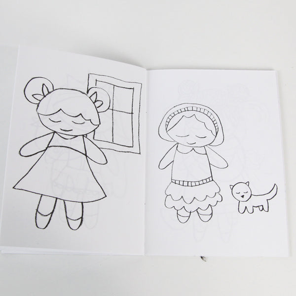Pitter Patter Coloring Book