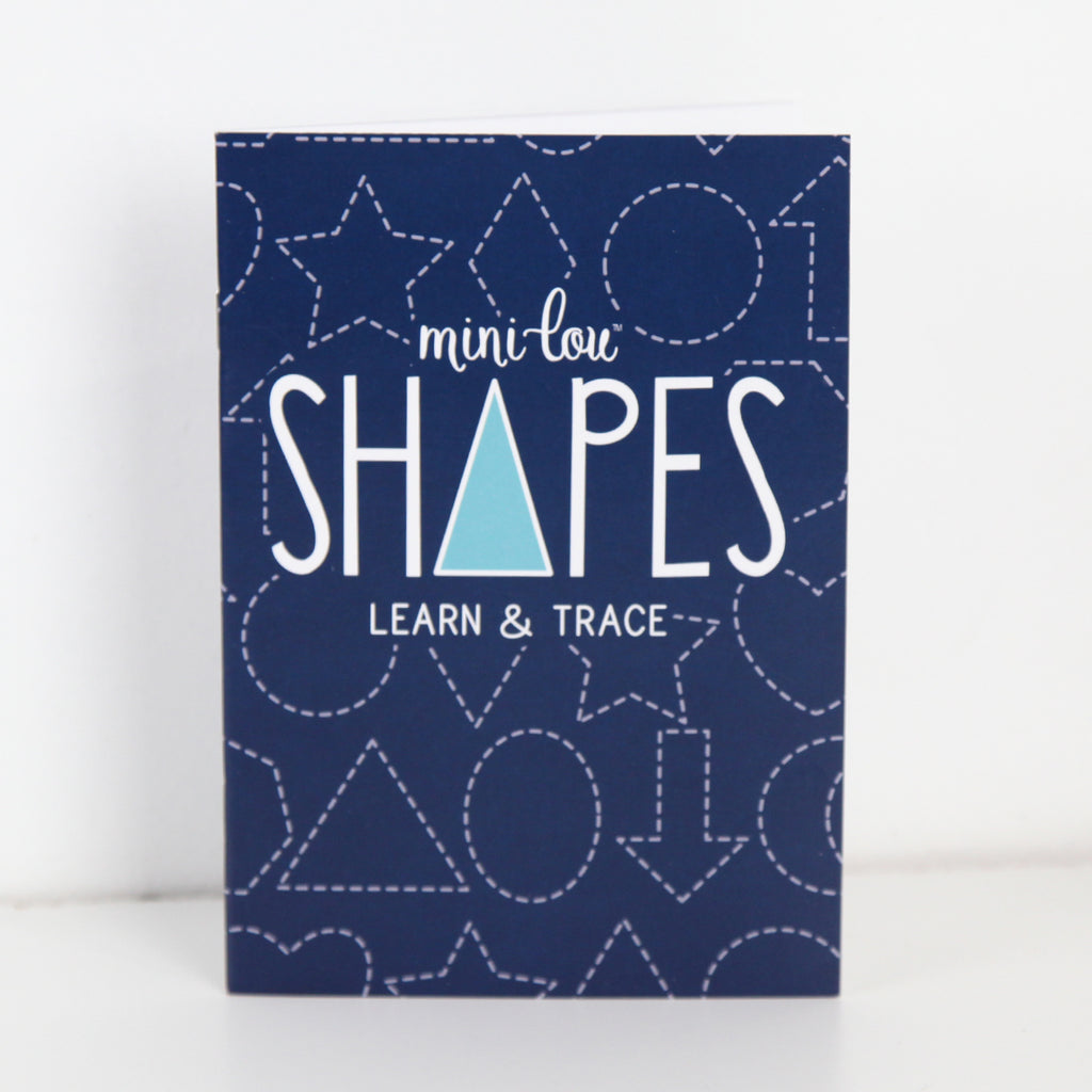 Shapes Learn & Trace Coloring Book   MiniLou