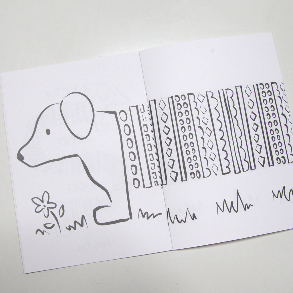 A Very Long Dog Coloring Book - FINAL SALE | MiniLou